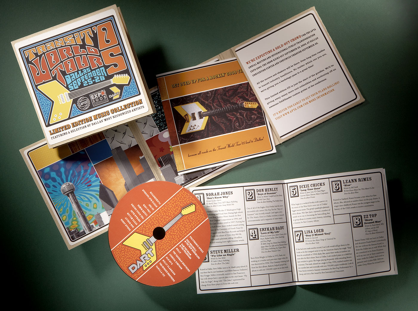 custom cd packaging with disk and insert booklet